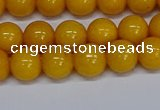 CMJ45 15.5 inches 8mm round Mashan jade beads wholesale