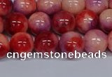 CMJ620 15.5 inches 10mm round rainbow jade beads wholesale
