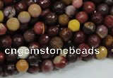 CMK16 15.5 inches 6mm faceted round mookaite beads wholesale