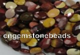 CMK23 15.5 inches 10*14mm faceted oval mookaite beads wholesale