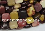 CMK78 15.5 inches 12*12mm square mookaite gemstone beads wholesale