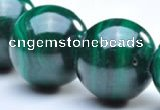 CMN06 10mm round A grade natural malachite  beads wholesale