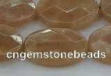 CMS1109 15.5 inches 18*25mm faceted oval moonstone gemstone beads