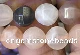 CMS1470 15.5 inches 6mm faceted round moonstone beads wholesale