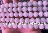 CMS1918 15.5 inches 12mm round white moonstone beads wholesale