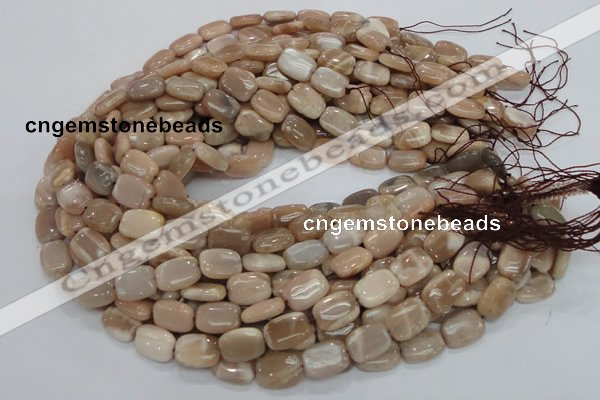 CMS28 15.5 inches 13*18mm rectangle moonstone gemstone beads wholesale