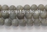 CMS304 15.5 inches 9mm round natural grey moonstone beads wholesale