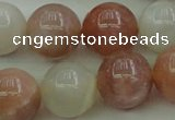 CMS894 15.5 inches 12mm round moonstone gemstone beads wholesale