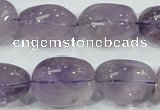 CNA203 15.5 inches 14*20mm nugget natural amethyst beads