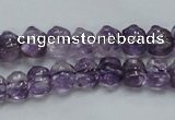 CNA40 15.5 inches 8*11mm pig-shaped grade A natural amethyst beads