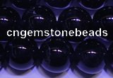 CNA552 15.5 inches 8mm round A grade natural dark amethyst beads