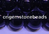CNA555 15.5 inches 14mm round A grade natural dark amethyst beads