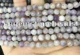 CNA686 15.5 inches 6mm faceted round lavender amethyst beads