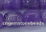 CNA719 15.5 inches 15*20mm drum lavender amethyst beads