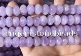 CNA783 15.5 inches 8*12mm rondelle lavender amethyst beads