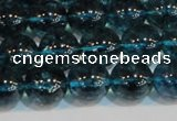 CNC423 15.5 inches 10mm round dyed natural white crystal beads