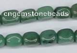 CNG08 15.5 inches 9*12mm nuggets green aventurine beads