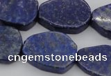 CNG1087 15.5 inches 20*25mm - 22*28mm freeform lapis lzuli beads
