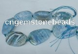 CNG1258 15.5 inches 40*50mm - 45*55mm freeform agate beads
