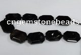 CNG1684 15.5 inches 30*40mm freeform agate gemstone beads wholesale