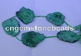 CNG2574 15.5 inches 45*50mm - 55*65mm freeform druzy agate beads