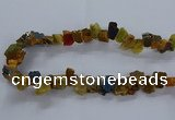 CNG2588 15.5 inches 13*18mm - 15*25mm nuggets plated druzy agate beads