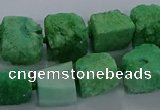 CNG2622 15.5 inches 10*12mm - 14*16mm nuggets druzy agate beads