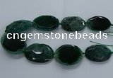 CNG2651 15.5 inches 30*38mm - 40*50mm freeform agate beads