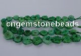 CNG2766 15.5 inches 15*20mm - 25*30mm freeform druzy agate beads