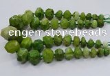 CNG3233 15.5 inches 12*16mm - 25*30mm nuggets agate beads