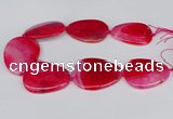 CNG3351 15.5 inches 40*50mm - 45*60mm freeform agate beads