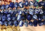 CNG3612 15.5 inches 13*20mm - 15*24mm faceted nuggets sodalite beads