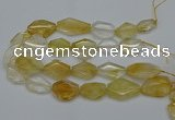 CNG5079 15.5 inches 20*30mm - 35*45mm freeform citrine beads