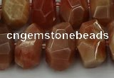 CNG5093 15.5 inches 13*18mm - 15*20mm faceted nuggets sunstone beads