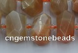CNG5301 15.5 inches 12*16mm - 15*20mm faceted nuggets moonstone beads