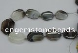 CNG5311 15.5 inches 20*30mm - 35*45mm freeform agate beads