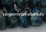 CNG5339 15.5 inches 12*16mm - 15*20mm faceted nuggets apatite beads