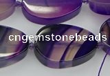 CNG5662 15.5 inches 22*30mm freeform agate gemstone beads