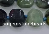 CNG5937 10*14mm - 12*16mm faceted freeform jade beads