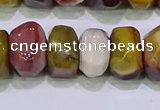 CNG6384 15.5 inches 6*14mm - 8*14mm nuggets mookaite beads