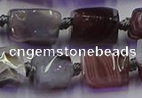 CNG6815 15.5 inches 5*8mm - 8*12mm nuggets botswana agate beads