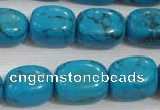 CNG732 15.5 inches 13*18mm nuggets synthetic turquoise beads wholesale