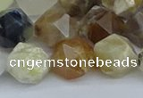 CNG7373 15.5 inches 12mm faceted nuggets mixed opal beads