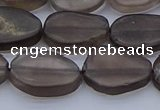 CNG7573 15.5 inches 10*14mm - 13*18mm freeform smoky quartz beads