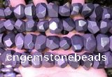 CNG7585 15.5 inches 12*16mm - 13*18mm faceted nuggets hematite beads