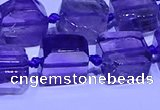 CNG7601 15.5 inches 10*12mm - 12*14mm freeform amethyst beads
