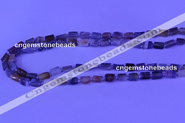 CNG7642 15.5 inches 5*7mm - 8*10mm nuggets Botswana agate beads