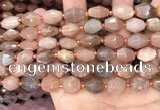 CNG7990 15.5 inches 10*12mm - 12*14mm faceted nuggets moonstone beads