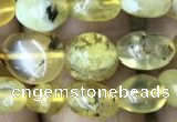 CNG8012 15.5 inches 6*8mm nuggets yellow opal beads wholesale