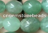CNG8043 15.5 inches 8*10mm nuggets green aventurine beads